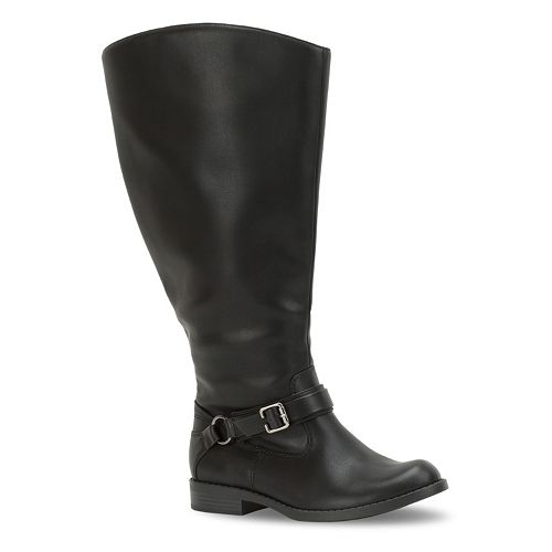 Easy Street Quinn Women's Extra-Wide-Calf Riding Boots