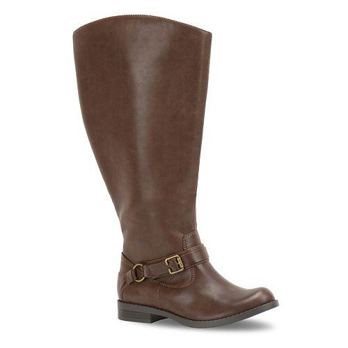 Easy Street Quinn Women's Extra-Wide-Calf Riding Boots