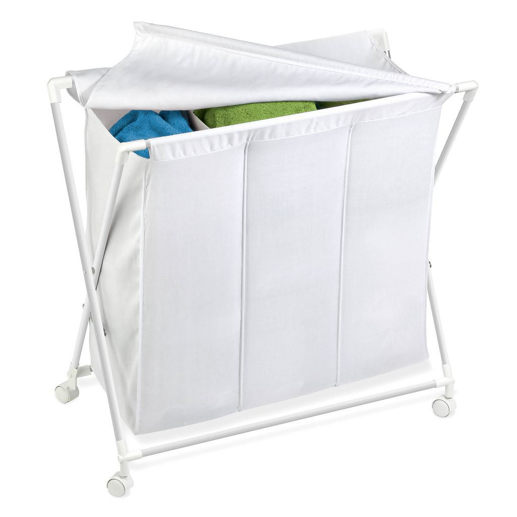 Honey-Can-Do Triple Folding Hamper