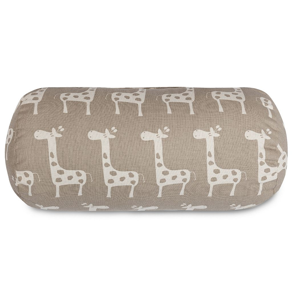 Majestic Home Goods Stretch Round Bolster Pillow