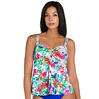 Women's Upstream Tropical Floral Tankini Top