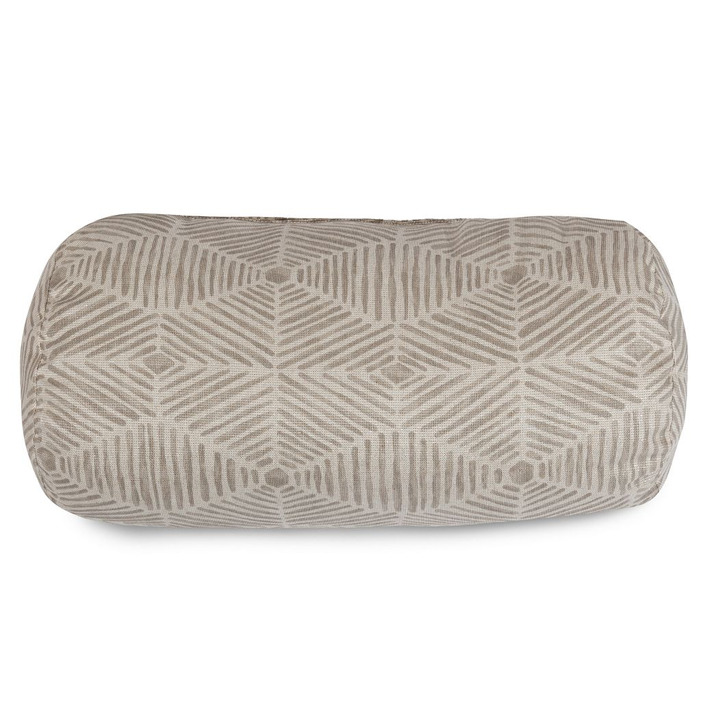 Majestic Home Goods Charlie Round Bolster Pillow