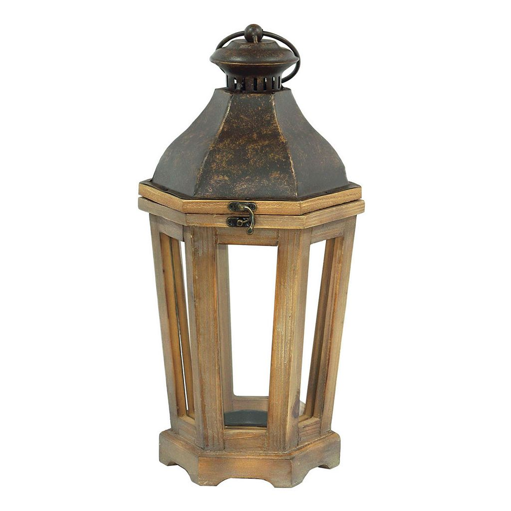 SONOMA Goods for Life™ Farmhouse Small Lantern Candle Holder