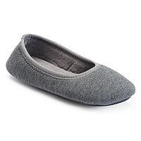 isotoner Women's Jillian Ballet Slippers