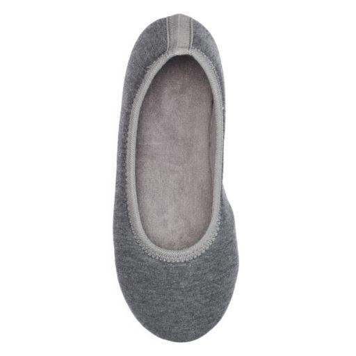 isotoner Women's Jillian Ballet Slippers