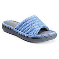Isotoner Women's Andrea Space Knit Slide Slippers