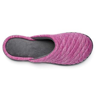 fc844fe30f28a7 isotoner Women's Andrea Space Knit Clog Slippers