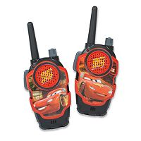 Disney / Pixar's Cars Walkie Talkies by Kid Designs