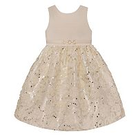 Girls 4-6x American Princess Soutache Sequin Dress