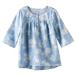 Girls 4-7 SONOMA Goods for Life™ Floral Tunic