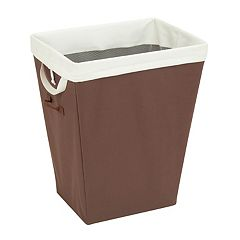 Honey-Can-Do Brown Hamper
