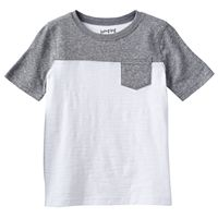 Boys 4-10 Jumping Beans® Two-Tone Pocket Tee