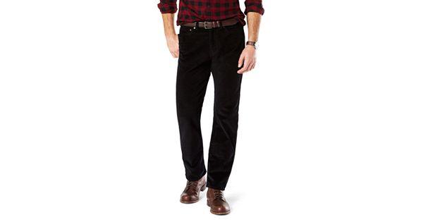 Men S Dockers Jean Cut Straight Fit Stretch Corduroy Pants