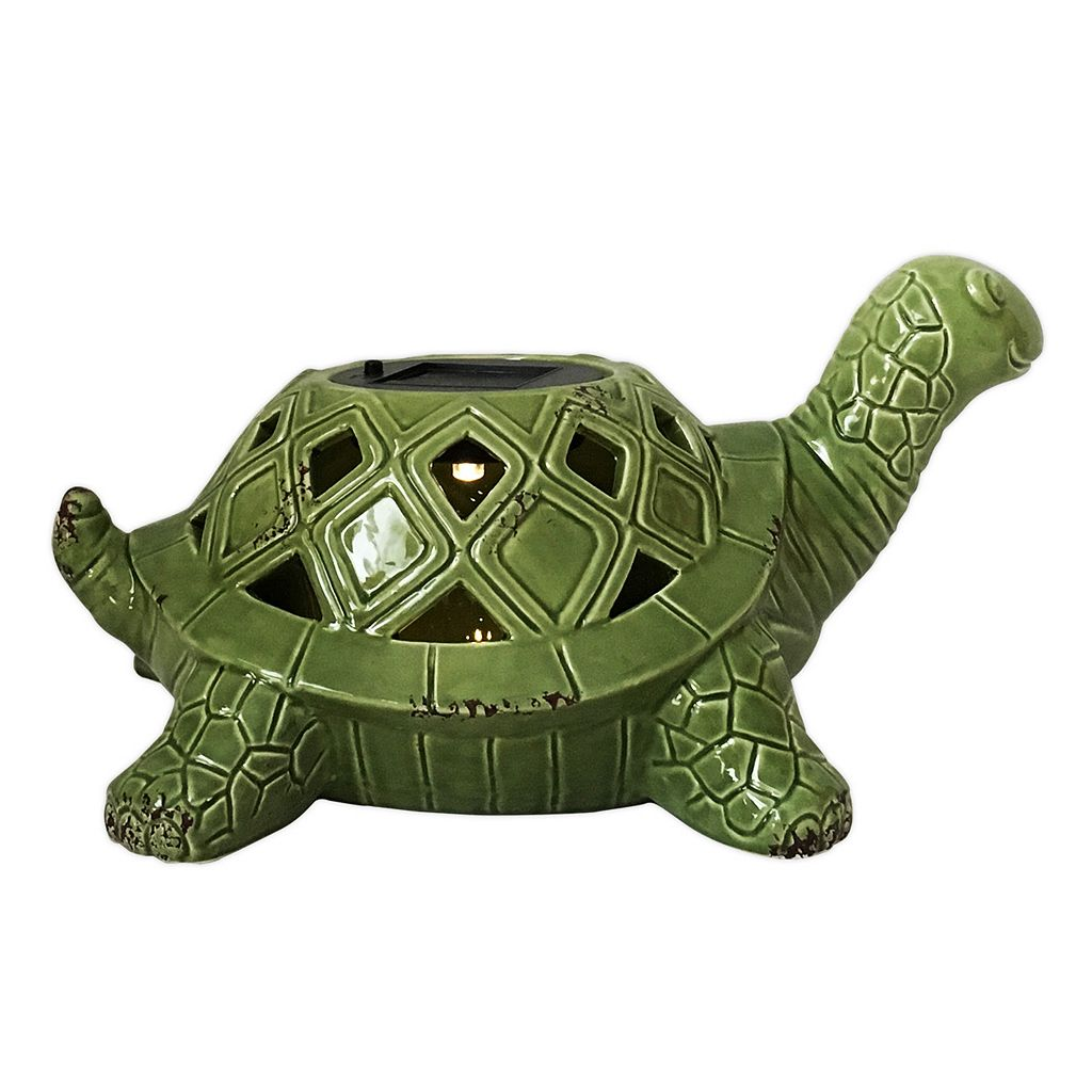SONOMA Goods for Life™ Outdoor Solar LED Turtle Table Decor