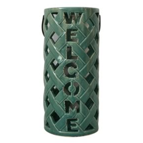 "SONOMA Goods for Life™ Outdoor ""Welcome"" Lantern Table Decor"