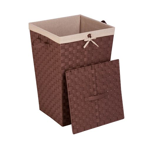 Honey-Can-Do Woven Strap Hamper