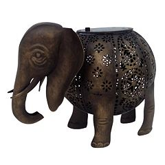 Click here to buy SONOMA Goods for Life Outdoor Solar LED Elephant Table Decor .