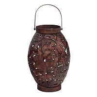 SONOMA Goods for Life™ Large Outdoor Solar Palm Leaf Lantern