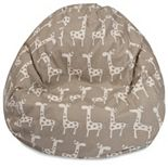 Majestic Home Goods Stretch Small Beanbag Chair