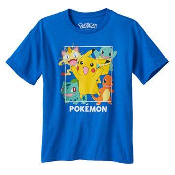 Boys 8-20 Pokemon Gang Tee