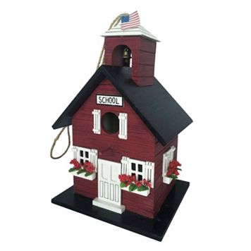 Celebrate Spring Together School House Birdhouse