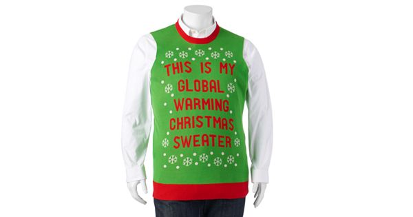 Big Amp Tall Quot This Is My Global Warming Christmas Sweater Quot Vest