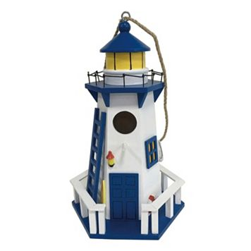 Celebrate Spring Together Lighthouse Birdhouse