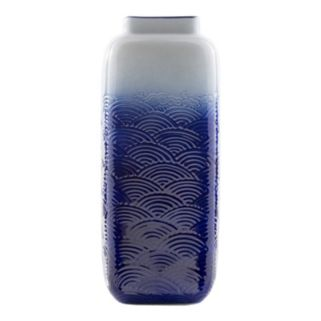 "Decor 140 Crilye 11"" x 4"" Ombre Vase"