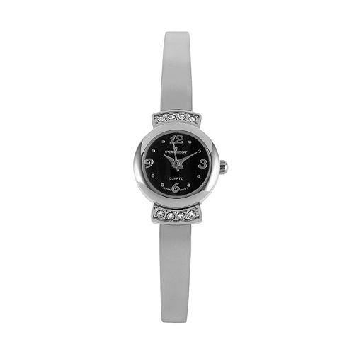 Peugeot Women's Crystal Half Bangle Watch - 7092SBK