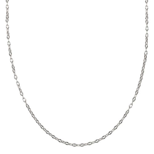 Sterling Silver Cable Chain Necklace – 24 in.