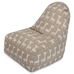 Majestic Home Goods Stretch Kick-It Chair