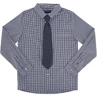 Boys 4-7 French Toast Poplin Button-Down Shirt with Tie