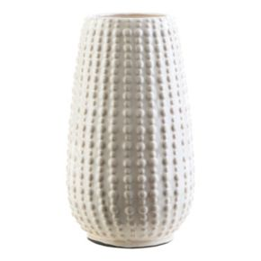 "Decor 140 Jimos 9.65"" x 5"" Textured Ceramic Vase"