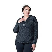 Plus Size Soybu Betty Space-Dye Hoodie