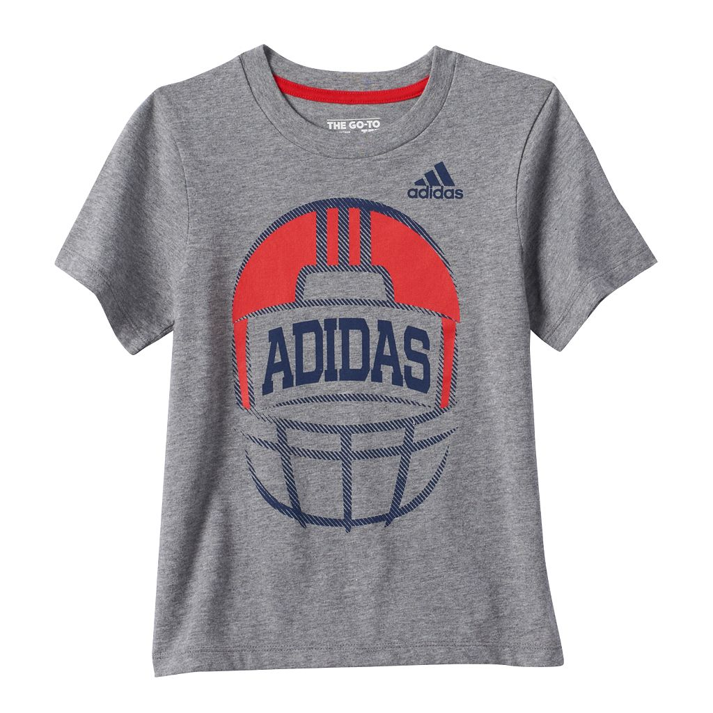 Boys 4-7x adidas Football Graphic Tee