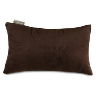 Majestic Home Goods Velvet Oblong Throw Pillow