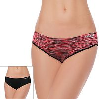 RBX 2-pack Reflective Seamless Hipster Panties RBX055