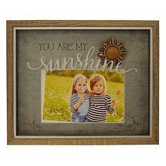 New View 'You Are My Sunshine' 5.5' x 3.5' Shadowbox Frame