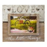 "New View ""Love The Little Things"" 5.5"" x 3.5"" Frame"