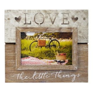 """New View """"Love The Little Things"""" 5.5"""" x 3.5"""" Frame"""