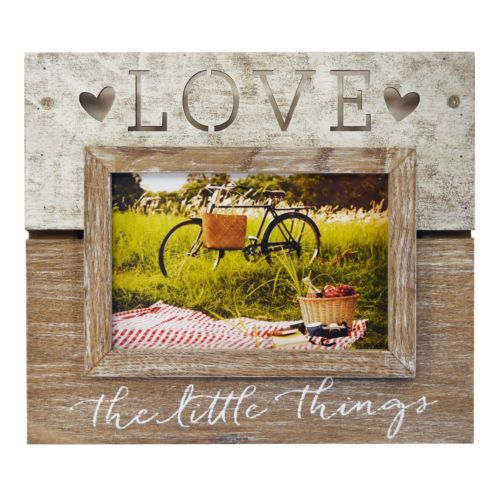 """New View """"Love The Little Things"""" 5.5″ x 3.5″ Frame"""