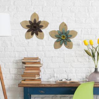 Stratton Home Decor Flower Wall Art