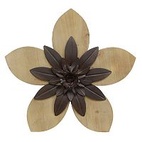 Stratton Home Decor Flower Wall Art