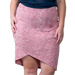Plus Size Soybu Wren Asymmetrical Skirt