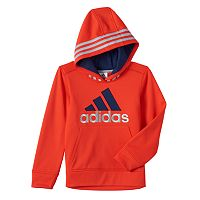 Boys 4-7x adidas Striped Hoodie
