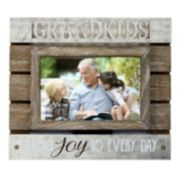"New View ""Grandkids Bring Joy"" Frame"
