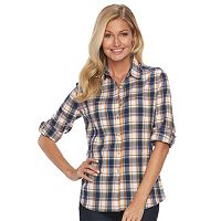 Women's Woolrich Tall Pine Plaid Seersucker Shirt