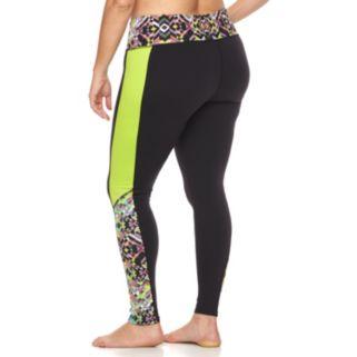 Plus Size Soybu Flex Core High Rise Yoga Leggings