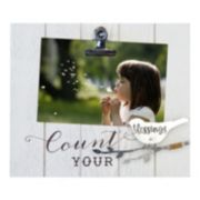 "New View ""Blessings"" Photo Clip Frame"