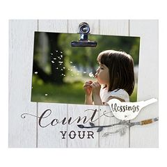 New View 'Blessings' Photo Clip Frame